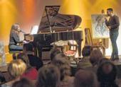 «Gefangenenprojekt inspiriert Künstlerin« -Vernissage und Konzert am 6. März mit Bildern und Musik von und mit Adriana Riemann