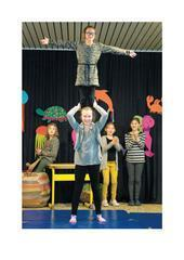 «Das Ziel ist der große Auftritt« - Artikel zu den Proben für das Musikschulmusical an der Grundschule Sundern