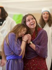 Fotoimpressionen aus den Proben zum Musical «Samirs Geschichte«