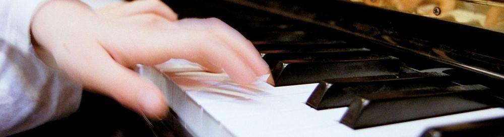 Klavierhände Kopfbild