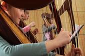 Schnupperkurs Harfe in den Herbstferien für Kinder - ab Montag 23. September 2017, 9.30 Uhr