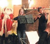 Nachwuchstalente auf weihnachtlicher Bühne - Artikel zum Weihnachtskonzert am 19. Dezember
