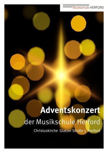 Plakat Adventskonzert Website