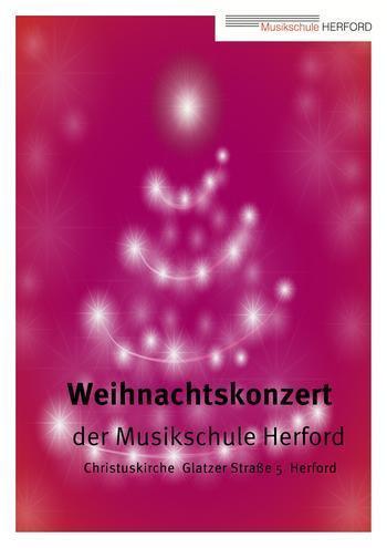 Plakat Weihnachtskonzert Website
